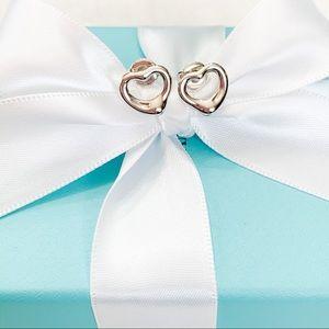 Tiffany & Co. Elsa Peretti Open Heart Earrings